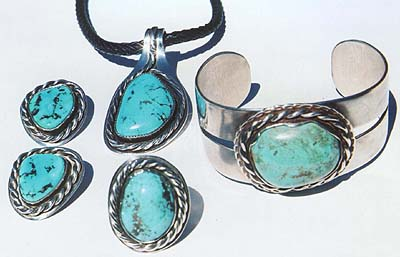 Sterling Silver Jewelry By Bruce Mof Turquoise